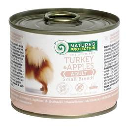 Nature's Protection Adult Small Breeds Turkey & Apples