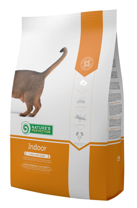 Корм для кошек Indoor Nature's Protection