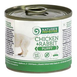 Nature's Protection Puppy Chicken&Rabbit