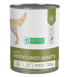 Nature's Protection with Beef & Turkey Hearts